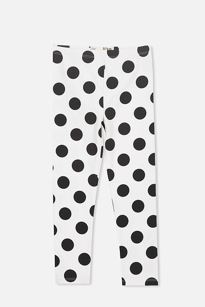 Huggie Tights, VANILLA/BIG SPOT