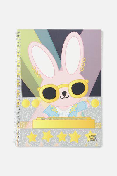A4 Flip It Notebook, DIVAS