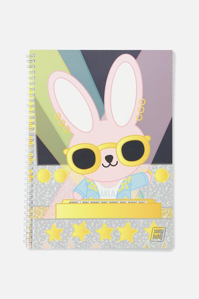 Sunny Buddy A4 Flip It Notebook, DIVAS