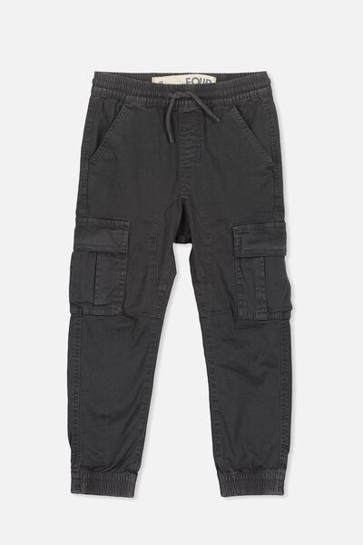 Joe Cuffed Pant, DUSTER BLACK