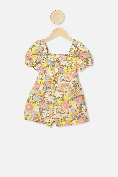 Kate Playsuit, NTH MEADOW FLORAL