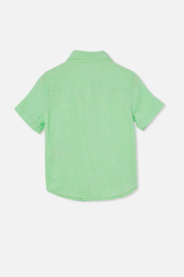 Resort Short Sleeve Shirt, WASHED SPEARMINT