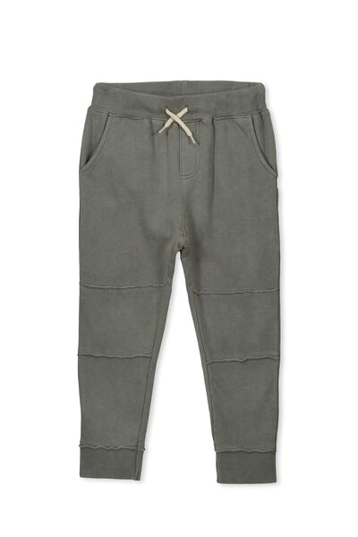 Abel Active Trackpant, WASHED PISTACHIO GREEN