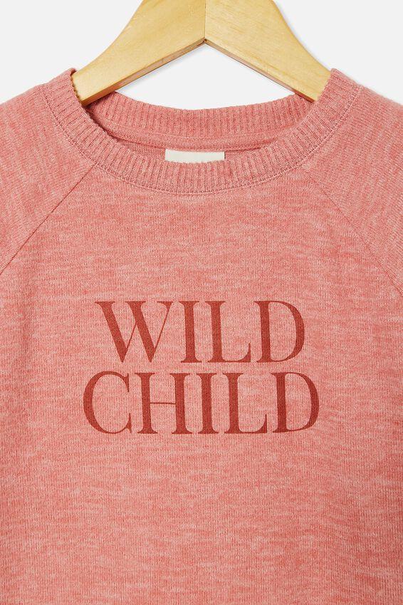 Super Soft Mila Crew, EARTH CLAY/ WILD CHILD