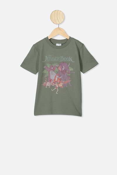Co-Lab Short Sleeve Tee, LCN DIS JUNGLE BOOK CREW