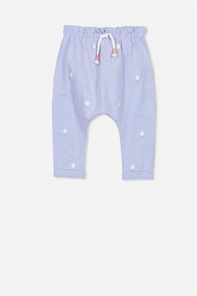 Alison Mini Pant, BLUEBELL SPOTS