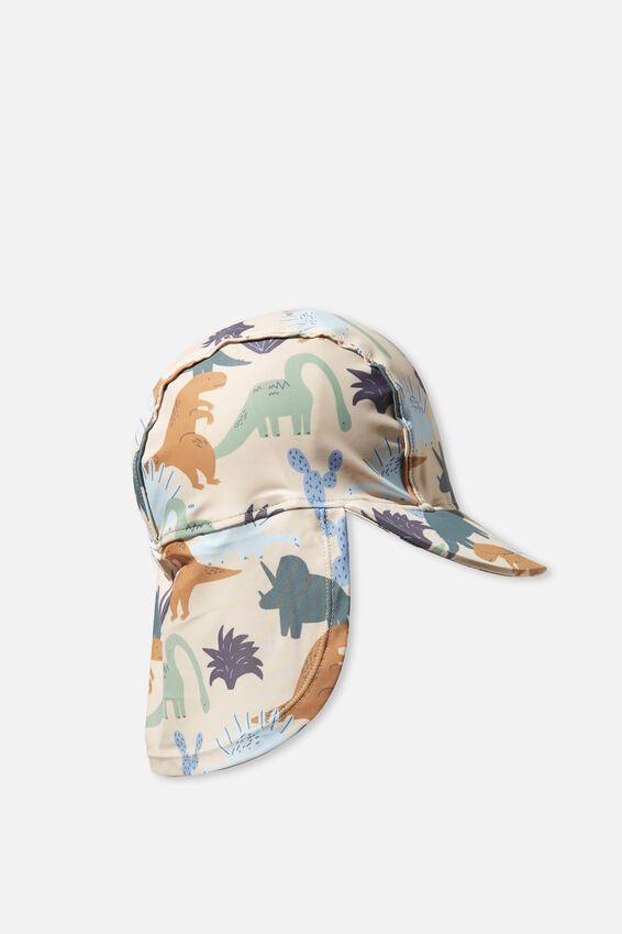 Sammy Swim Hat, VINTAGE LILAC/GINGHAM