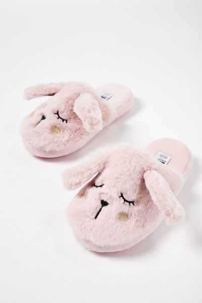 Novelty Slipper, PLUSH BUNNY