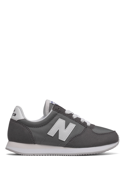 220 Youth Lace Up New Balance 12F7, KL220GWY GREY WHITE