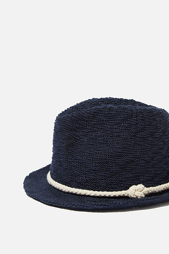 Trilby Hat, NAVY