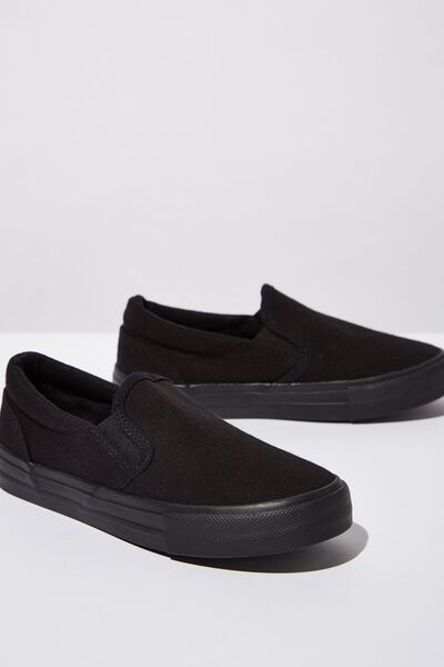 Classic Slip On, BLACK
