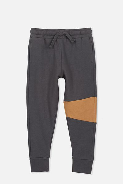 Lewis Trackpant, GRAPHITE/BURNT GINGER SPLICE