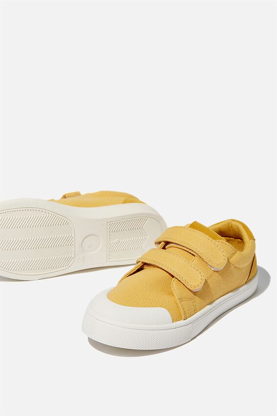 Multi Strap Trainers, HONEY GOLD