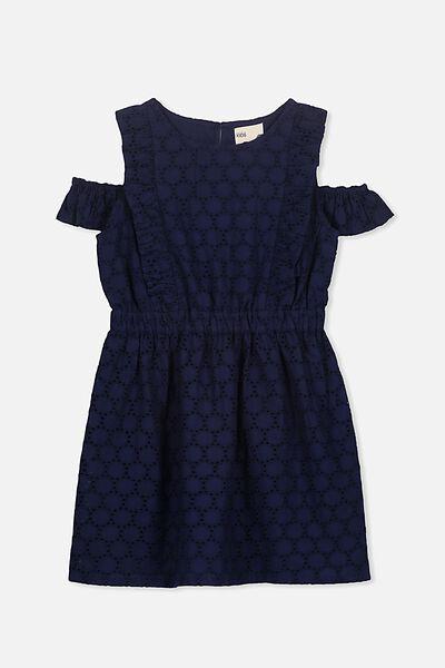 Sandy Dress, PEACOAT