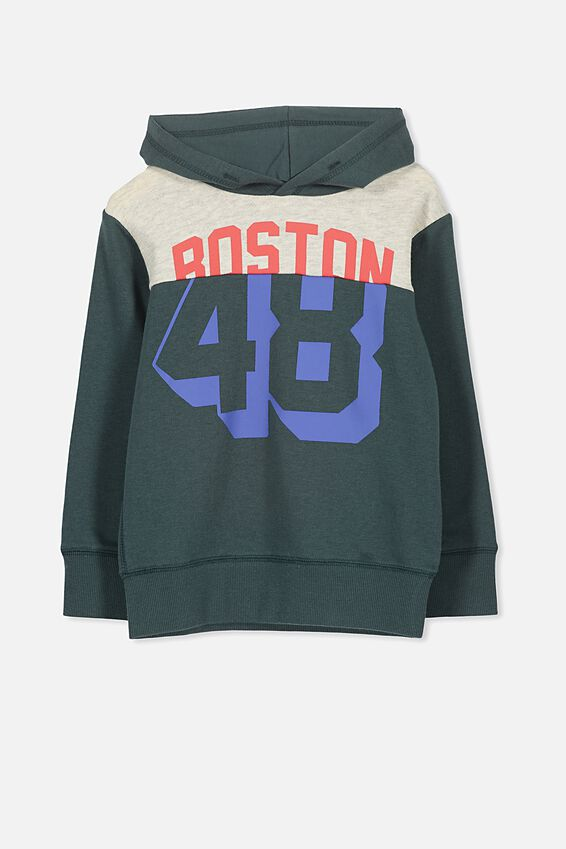 Liam Hoodie, DEEP FOREST GREEN/48
