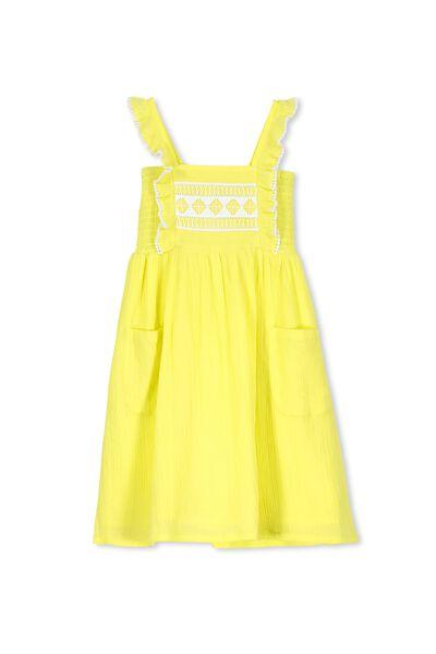 Dixie Dress, LEMON GELATO