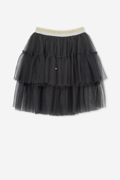 Trixiebelle Tulle Skirt, PHANTOM/TIERED