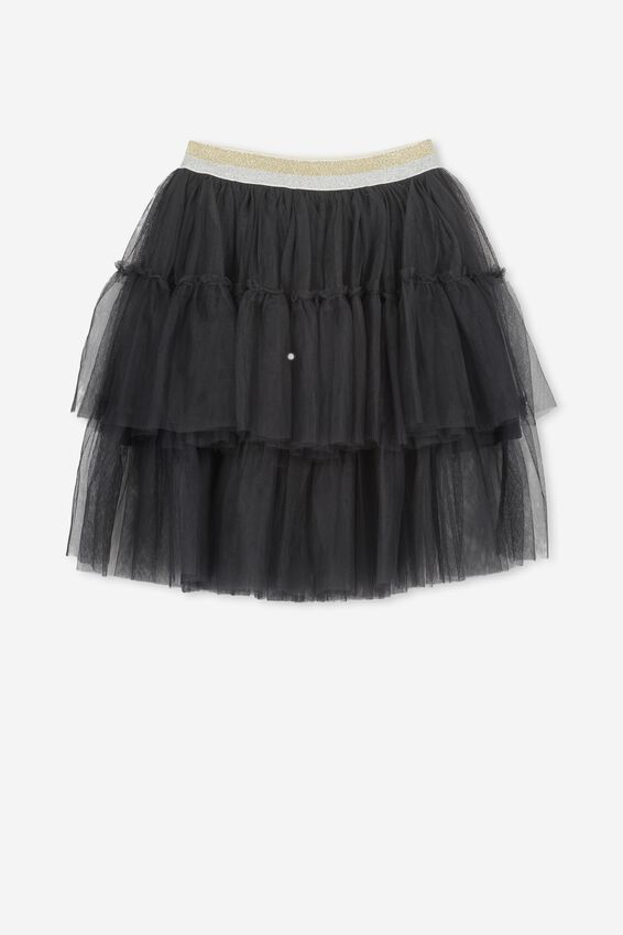 Trixiebelle Tulle Skirt, PHANTOM/TIERED