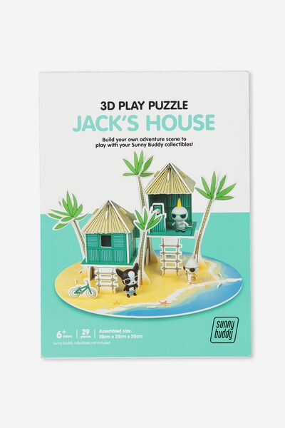 Sunny Buddy 3D Puzzle Play, JACK HOUSE