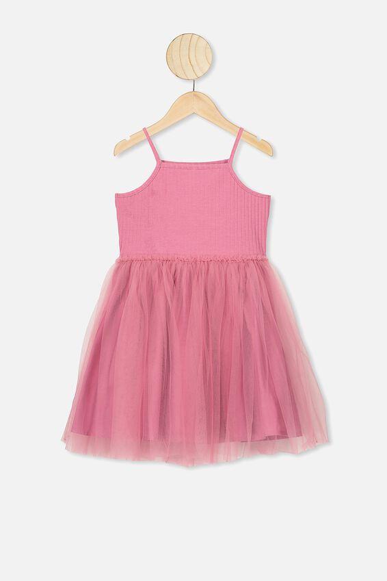 Ines Dress Up Dress, VERY BERRY