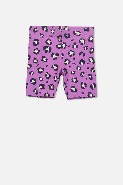 Hailey Short, IRIS ORCHID/ANIMAL FOIL