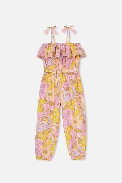 Pascal Jumpsuit, SWEET BLUSH/WILDFLOWERS