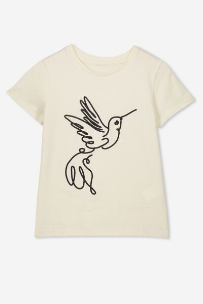 Stevie Ss Embellished Tee, VINTAGE VANILLA/BIRD/MAX