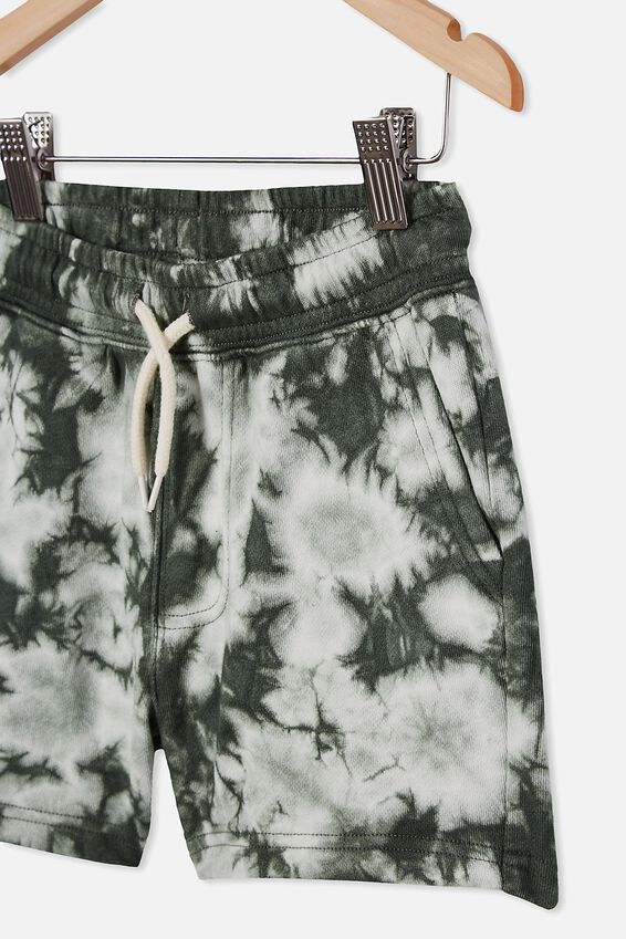Henry Slouch Short 80/20, SWAG GREEN/TIE DYE