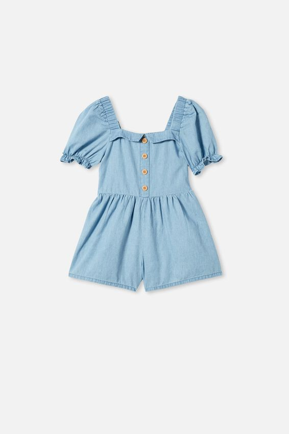Katie Playsuit, MID BLUE