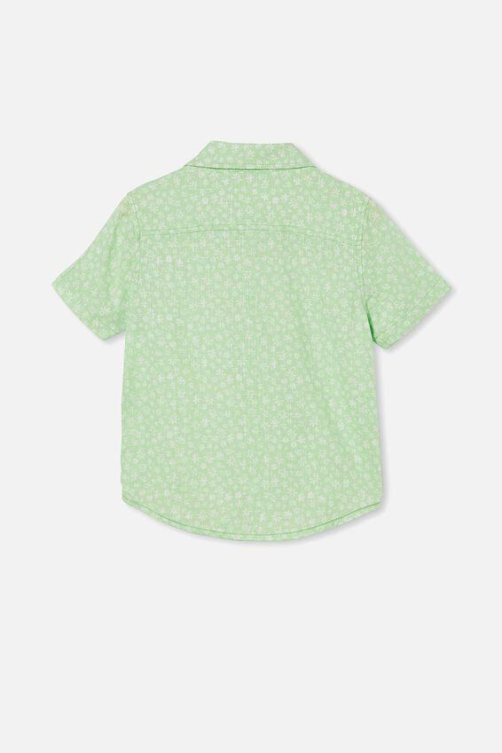 Resort Short Sleeve Shirt, DITSY FLORAL/WASHED SPEARMINT