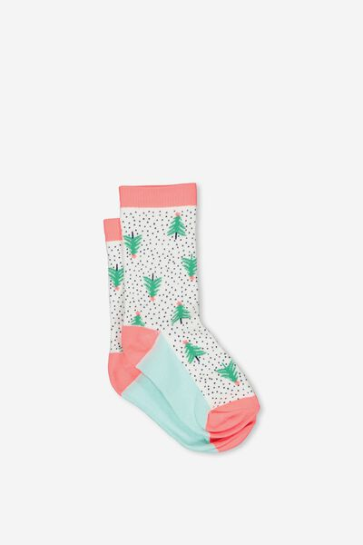 Fashion Kooky Socks, XMAS TREE