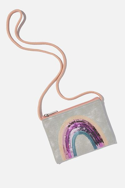 Ashley Party Bag, RAINBOW SEQUIN