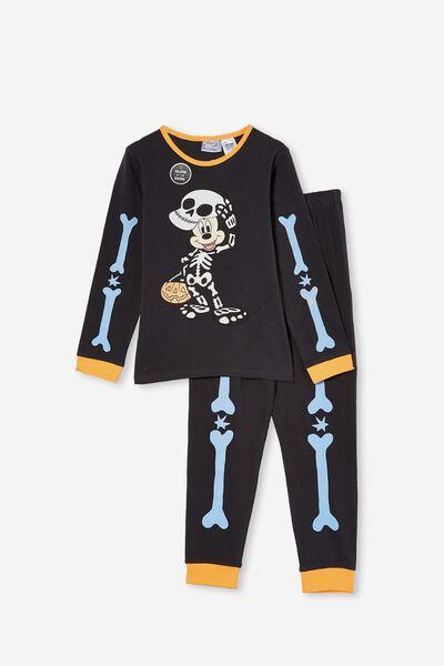 Orlando Long Sleeve Pyjama Set Licensed, LCN DIS MICKEY HALLOWEEN/PHANTOM