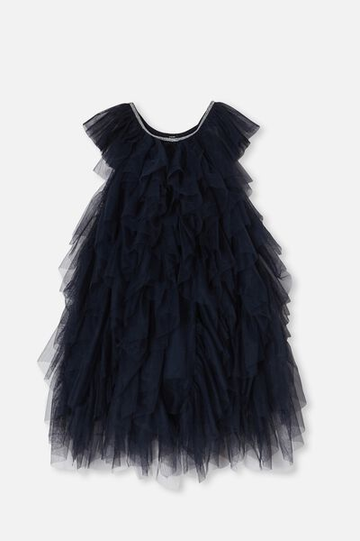 Alicia Dress Up Dress, INDIAN INK