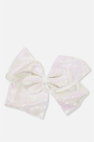 Statement Bows, PASTEL SEQUIN