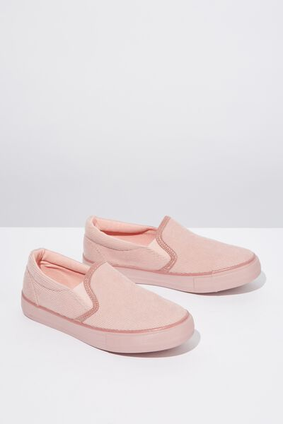 Classic Slip On, PINK CORD