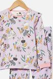 Edith Long Sleeve Pyjama Set, AUSTRALIANA EASTER/VINTAGE LILAC