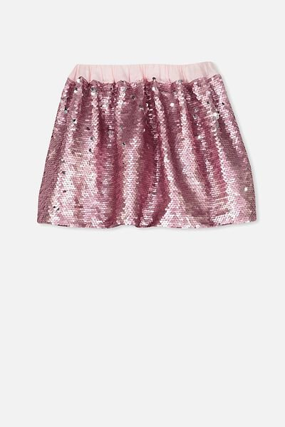 Tibby Sequin Skirt, BLOSSOM/SPARKLE