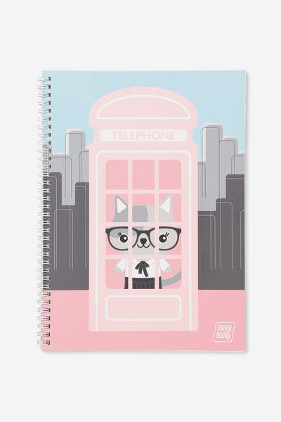 A4 Flip It Notebook, PHONEBOOK