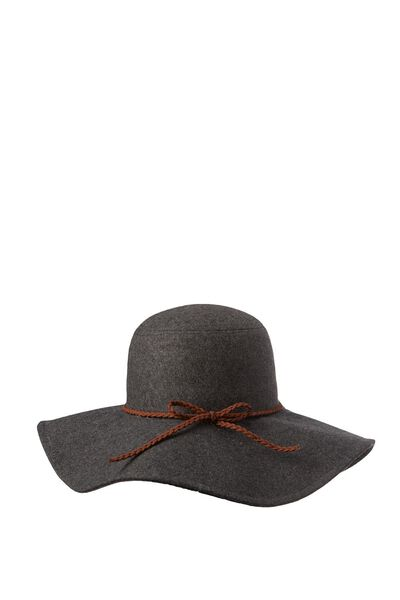 Finnley Floppy Hat, GREY MARLE