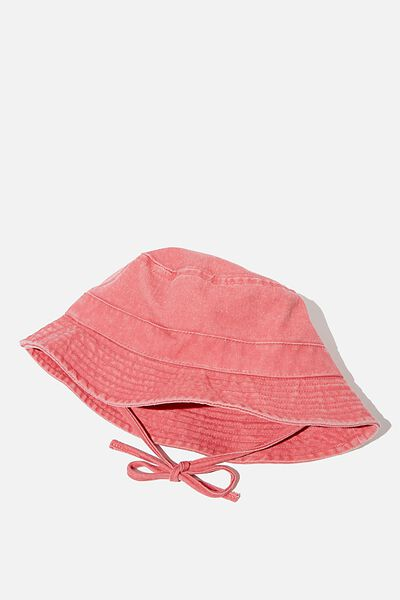 Baby Bucket Hat, RUSTY BLUSH