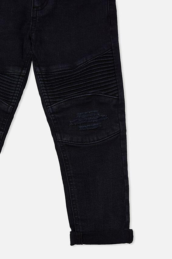 Biker Moto Jeans, AFTER DARK