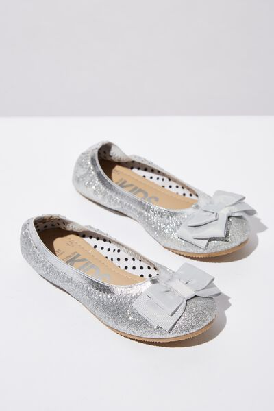 Kids Primo, SILVER BOW SHIMMER