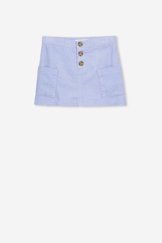 Rose Cord Skirt, HEATHER