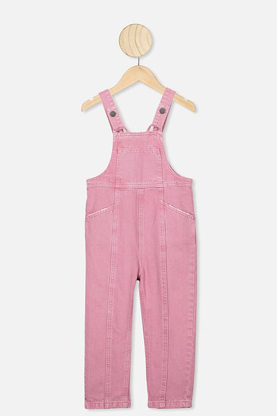 Gabby Denim Overall, VERY BERRY DREAM