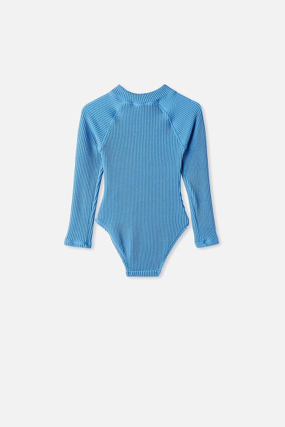 Lydia Rib One Piece, BLUE BIRD