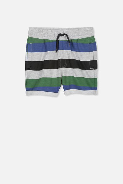 Henry Slouch Short, MULTI STRIPE