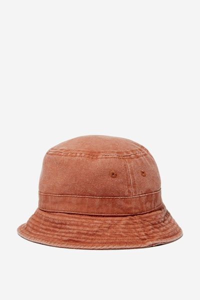 Kids Bucket Hat, AMBER BROWN