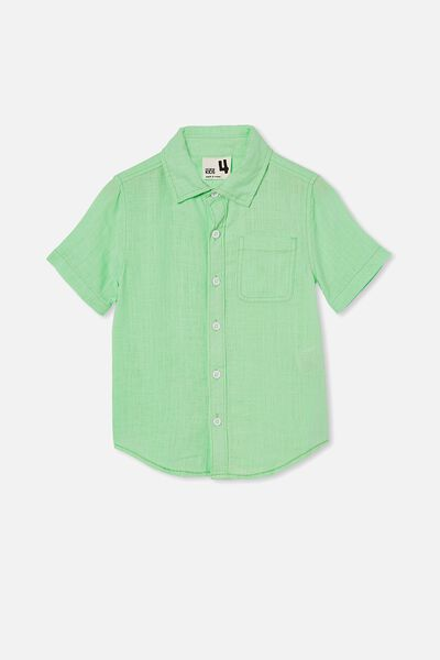 Resort Short Sleeve Shirt, WASHED SPEARMINT