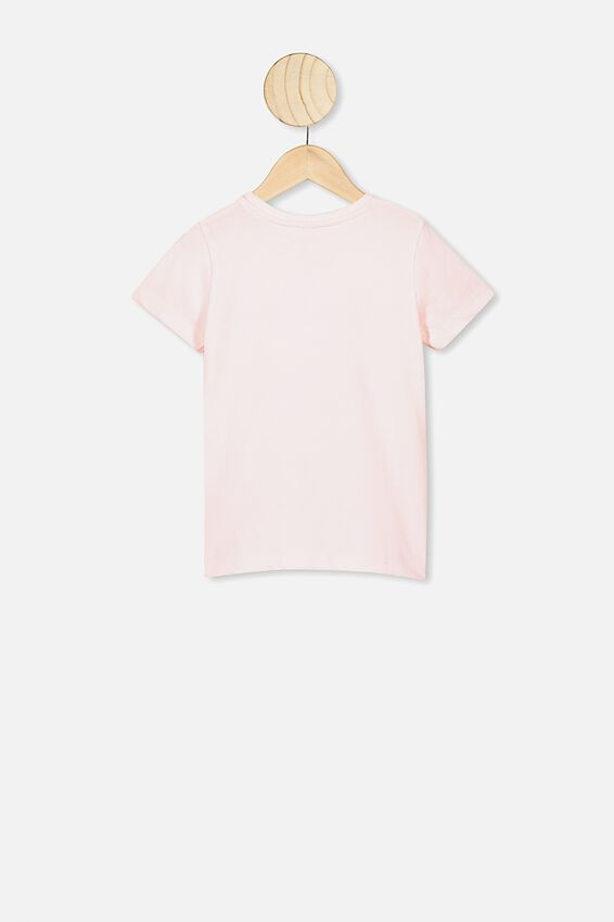 Penelope Short Sleeve Tee, CRYSTAL PINK ALL GOOD DAYS UNICORN